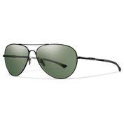 f0fe24813f Audible Sunglasses (Matte Black Frame Grey Green ChromaPop Lens). Smith  Optics. Audible ...