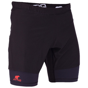 ef7c751dd0fc7 Mens Ultra Trail Running 2-in-1 Shorts (Blue). SAVE 67%