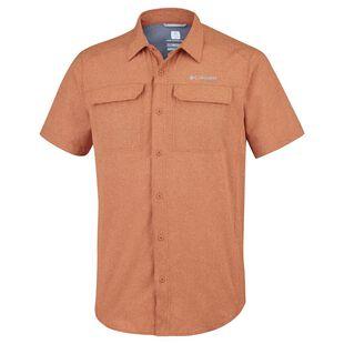 73cf13e03a7 Columbia Mens Irico Short Sleeve Shirt (Desert Sun Heather) | Sportpur