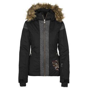 Womens Delia Ski Jacket (Black) ae168832b