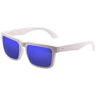 5b6fcffc6 Bomb Sunglasses (Shiny White - Blue Revo Lens)