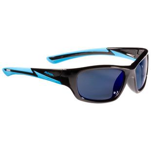 cb0b7f0c16 Kids Flexxy Sunglasses (Black Cyan)