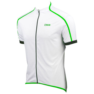 fec79f2a9 Mens Classic Short Sleeve Jersey (White Green)