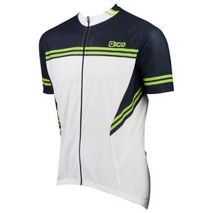 0c1ae16fb Mens Diamond Short Sleeve Jersey (White Black Green)