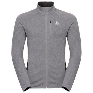 13e73d4c715be3 Mens Carve Warm Full Zip Midlayer Top (Grey Melange)