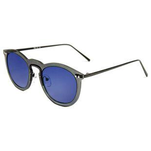 14e3389a95 Helsinki Sunglasses (Black Blue Mirror)