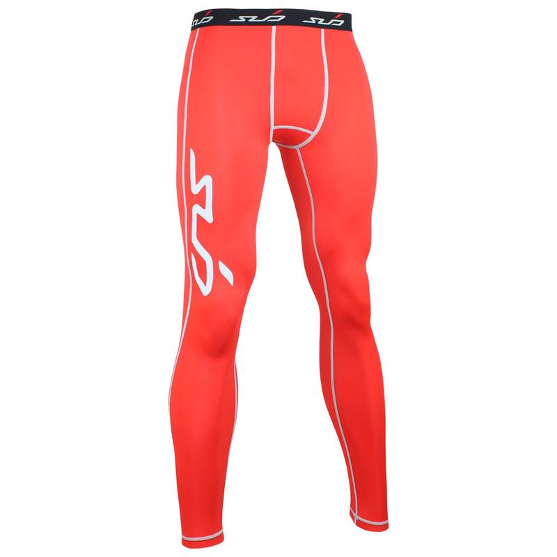 c2cc1b3cd9768a SubSports Mens DUAL Compression Tights (Red)   Sportpursuit.com