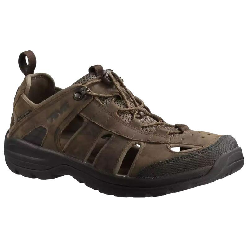 01c8e2634eb4fc Teva Mens Kimtah Leather Sandals (Turkish Coffee)