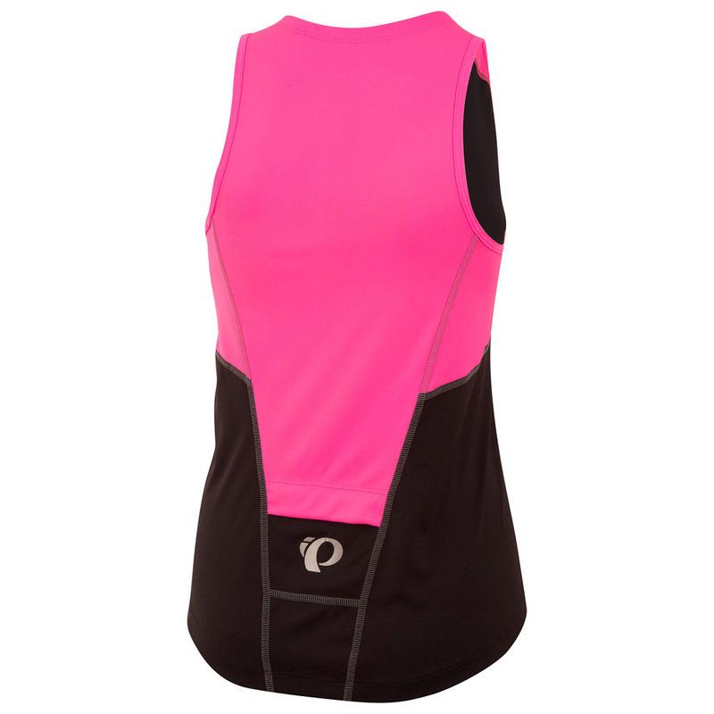 Pearl Izumi Womens SELECT Pursuit Tri Sleeveless Jersey (Black Screami af22b60e3