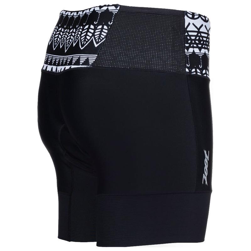 Zoot Womens Performance Tri 6 Inch Shorts (Surf-Graffiti)  77dba81ad3