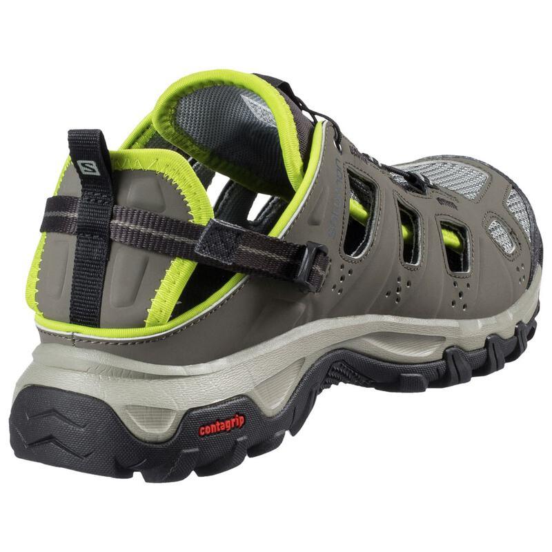6dd61e208e0a Salomon Mens Evasion Cabrio Sandals (Tempest Verdigrey Gecko Green)