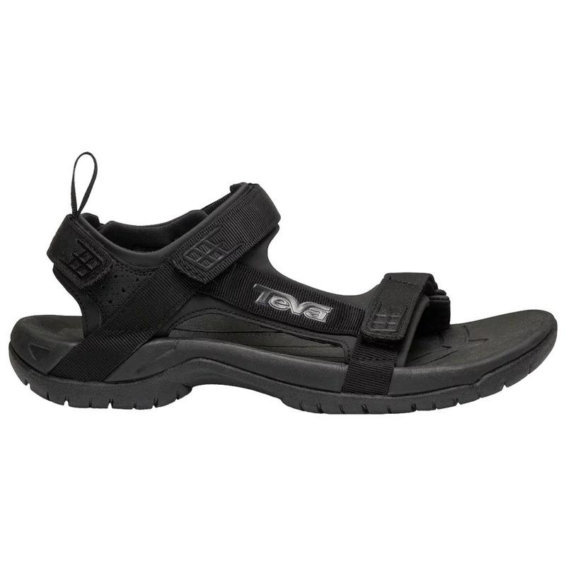 4a53e5b9db42 Teva Mens Tanza M Sandals (Black Black)