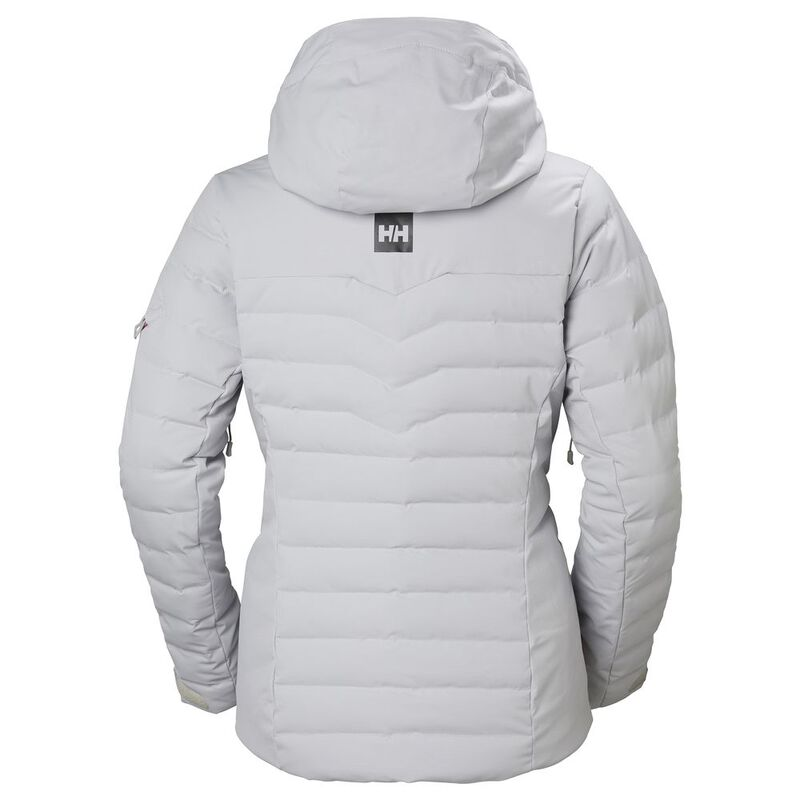 6a93181138 Helly Hansen Womens Limelight Ski Jacket (Light Grey)