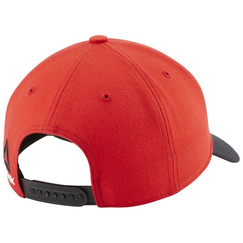 973c8f902a8 Reebok Mens Reebok Crossfit Cap (Primal Red Black)