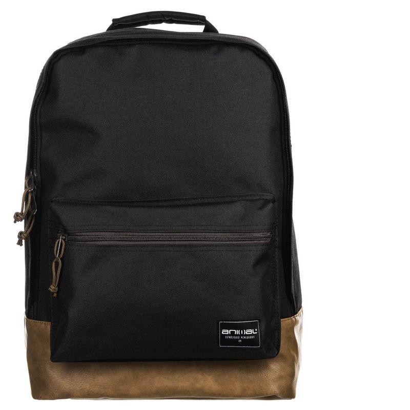 20b5a6c8db Animal Mens Carve Backpack (Black)
