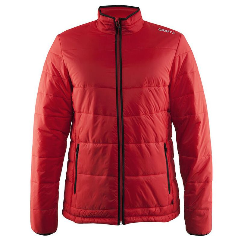 13fc617ade8 Craft Mens Insulation Primaloft Jacket (Bright Red) | Sportpursuit.com
