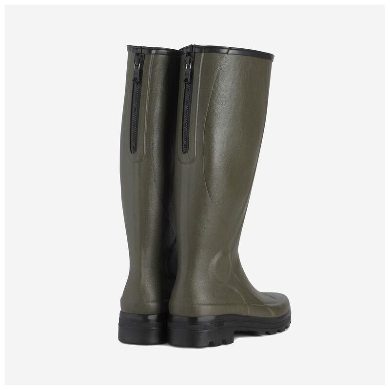 61518ffd249 Le Chameau Mens Traqueur Rubber Boots (Green) | Sportpursuit.com