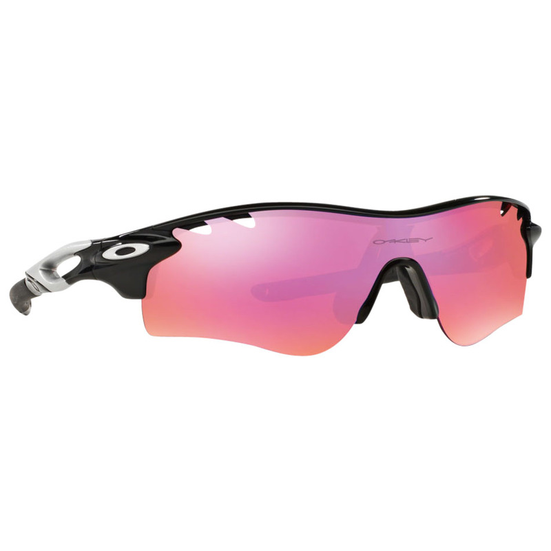 3b67f8b0be Oakley Mens Radarlock Path Sunglasses (Polished Black Pink ...