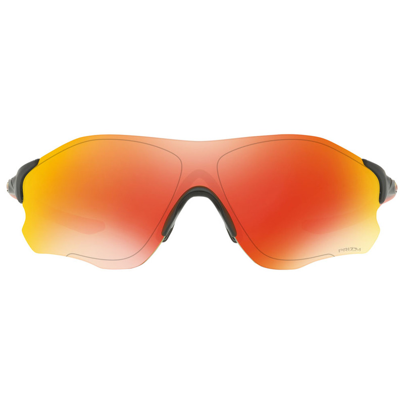 d5a2939faf Oakley Mens EVZero Prizm Path Ruby Fade Collection Sunglasses (Red Bla