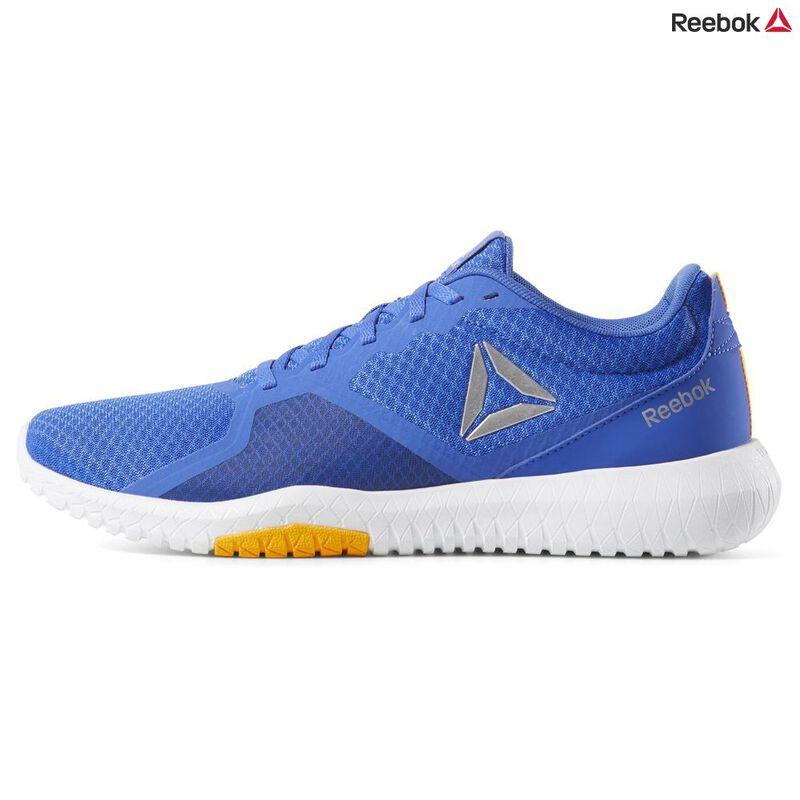 Reebok Mens Flexagon Force Shoes (Crushed Cobalt/Collegiate