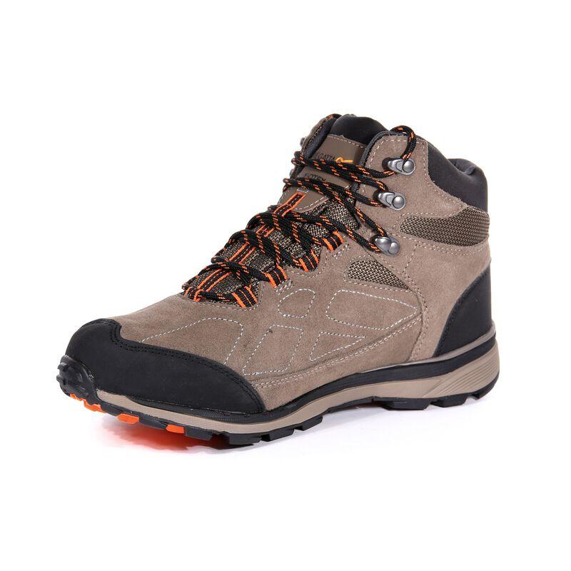 Regatta Men/'s Samaris Suede Walking Boots Brown