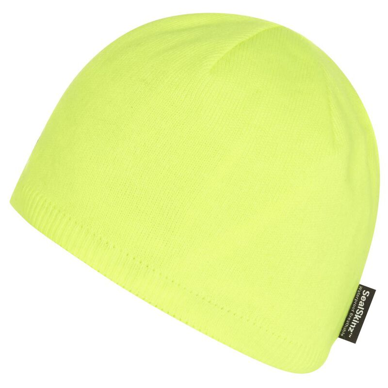 0ef8bdbc331 SealSkinz Waterproof Beanie Hat (Hi Vis Yellow)