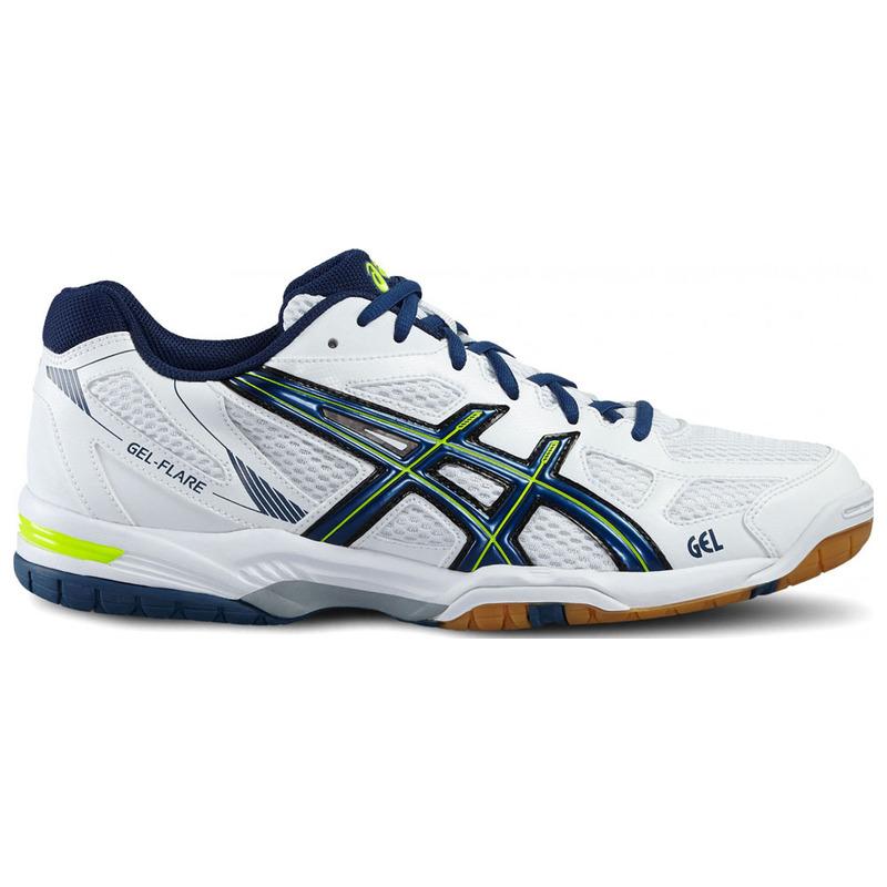Asics Mens Gel Flare 5 Shoes (WhiteBlue) |