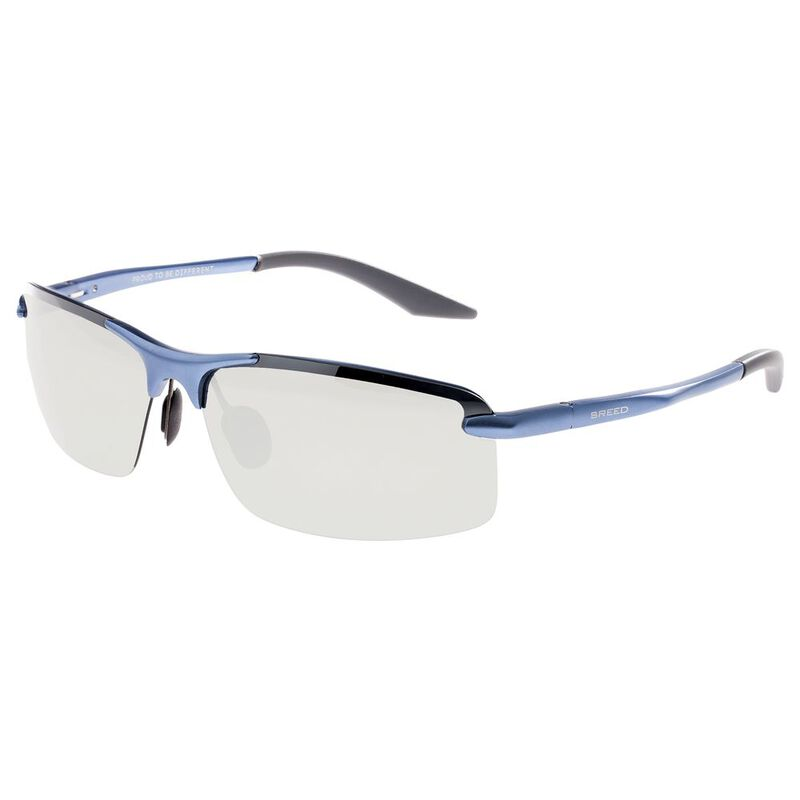 5ad8a04eec Breed Lynx Sunglasses (Blue Mirrored Silver Lens)