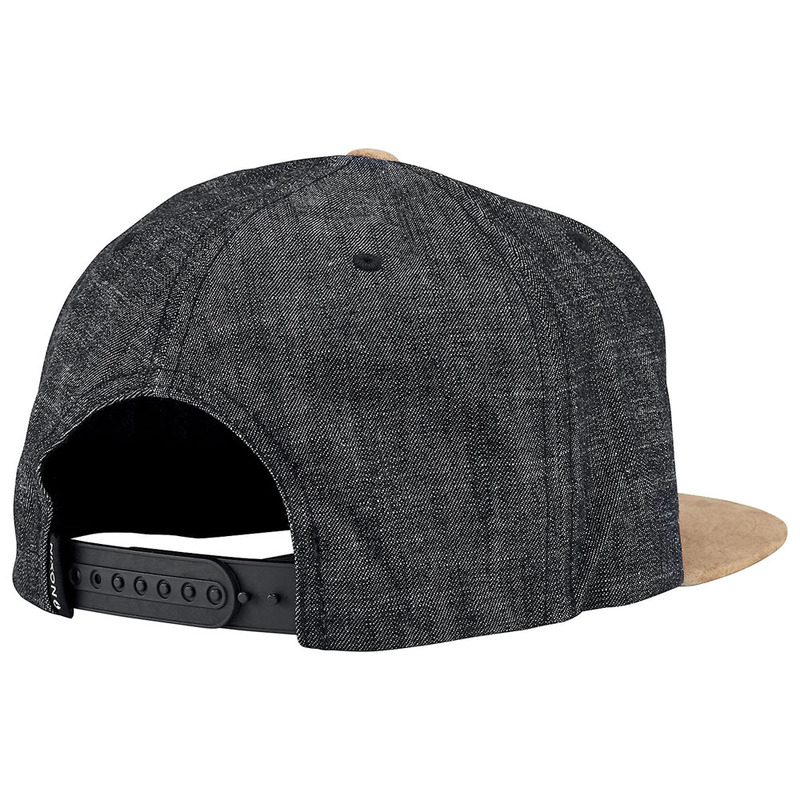 Nixon Mens Exchange Snapback Hat (Black Denim)  2879c9e7f7b5