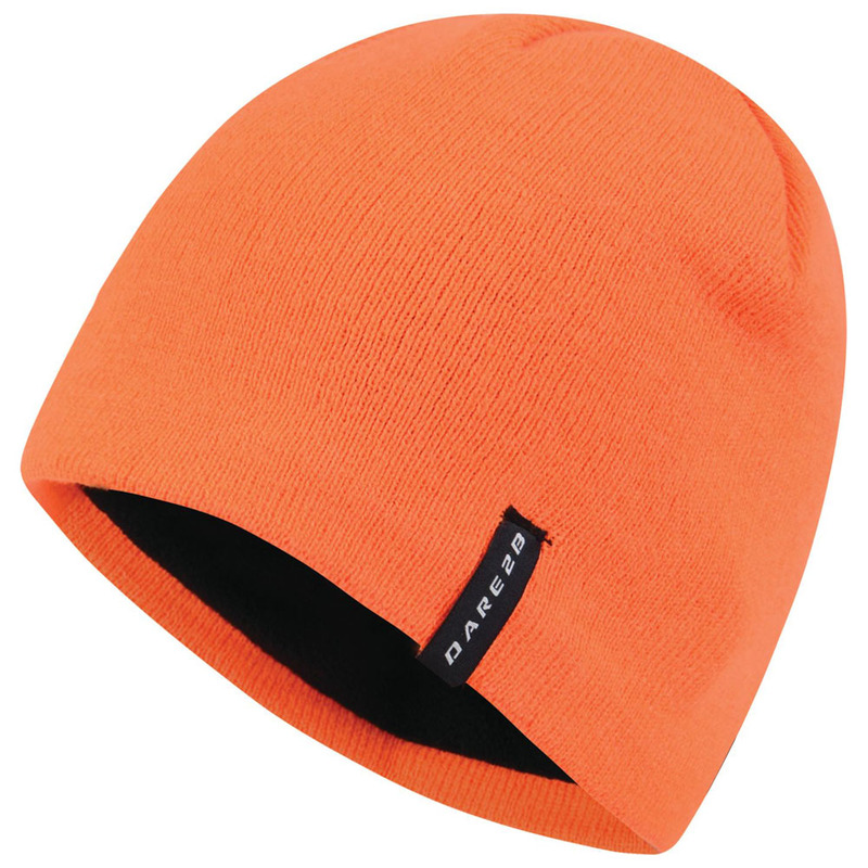 Dare2B Mens Prompted Beanie (Vibrant Orange)  6eb1fd8d2f9