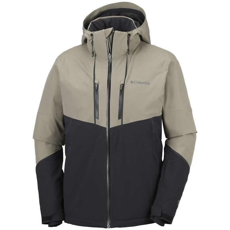 af455ed5c Columbia Mens Millennium Blur Ski Jacket (Sage/Black) | Sportpursuit.c