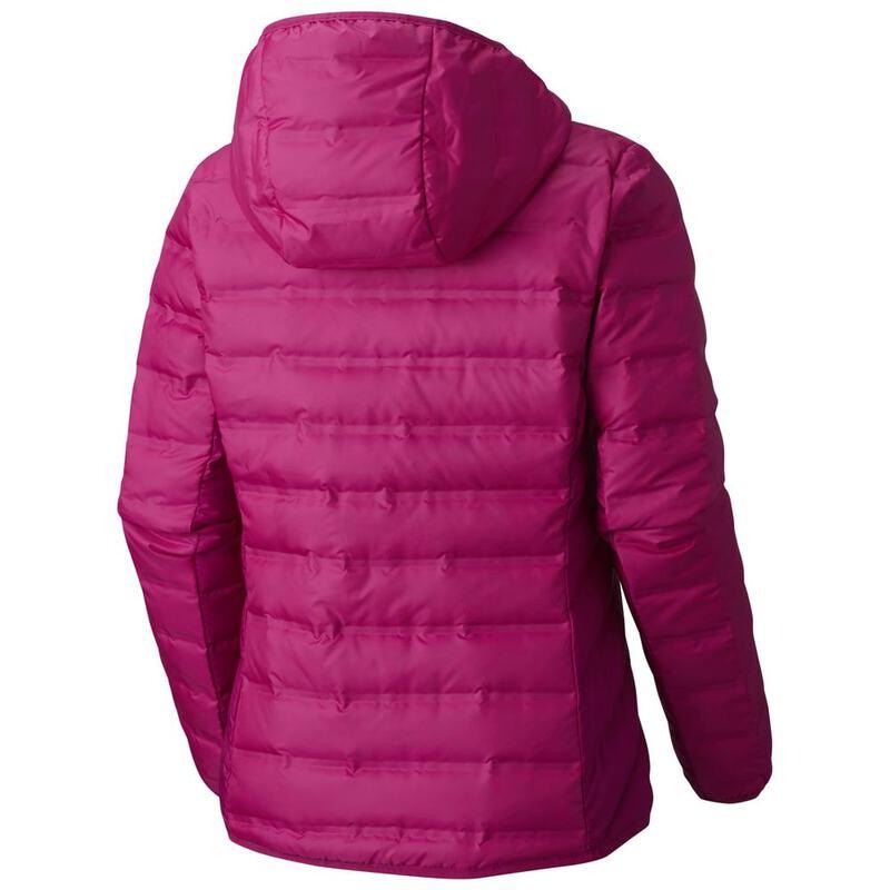 88dc685bf Columbia Womens Lake 22 Hooded Jacket (Deep Blush) | Sportpursuit.com