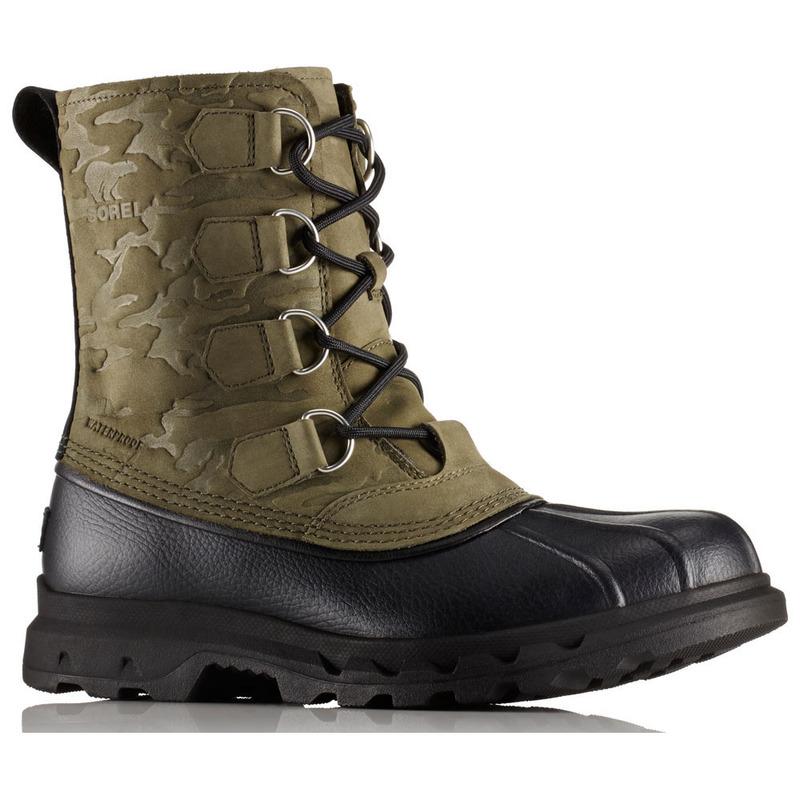 b868d5c7a8107 Sorel Mens Portzman Classic Camo Boots (Nori/Black)   Sportpursuit.co