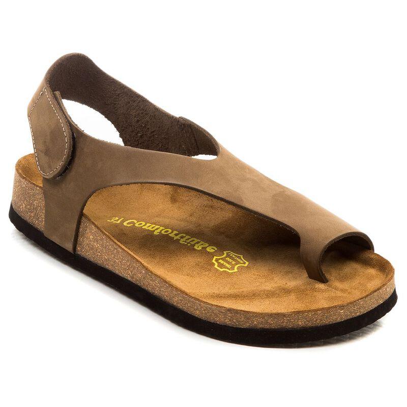 fa083235944 Comfortfusse Womens Felecia Sandals (Sand)