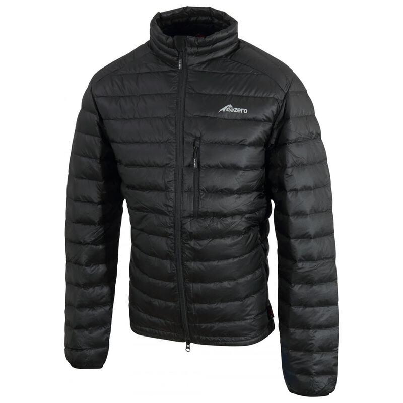 b8a114bee66 Sub Zero Full Zip Lightweight Down Jacket (All Black)