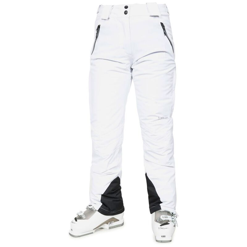 Trespass Womens Galaya Ski Trousers (White)  2b70628e0
