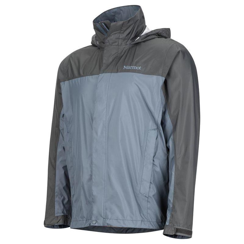 Marmot Mens PreCip Shell Jacket (Steel OnyxSlate Grey