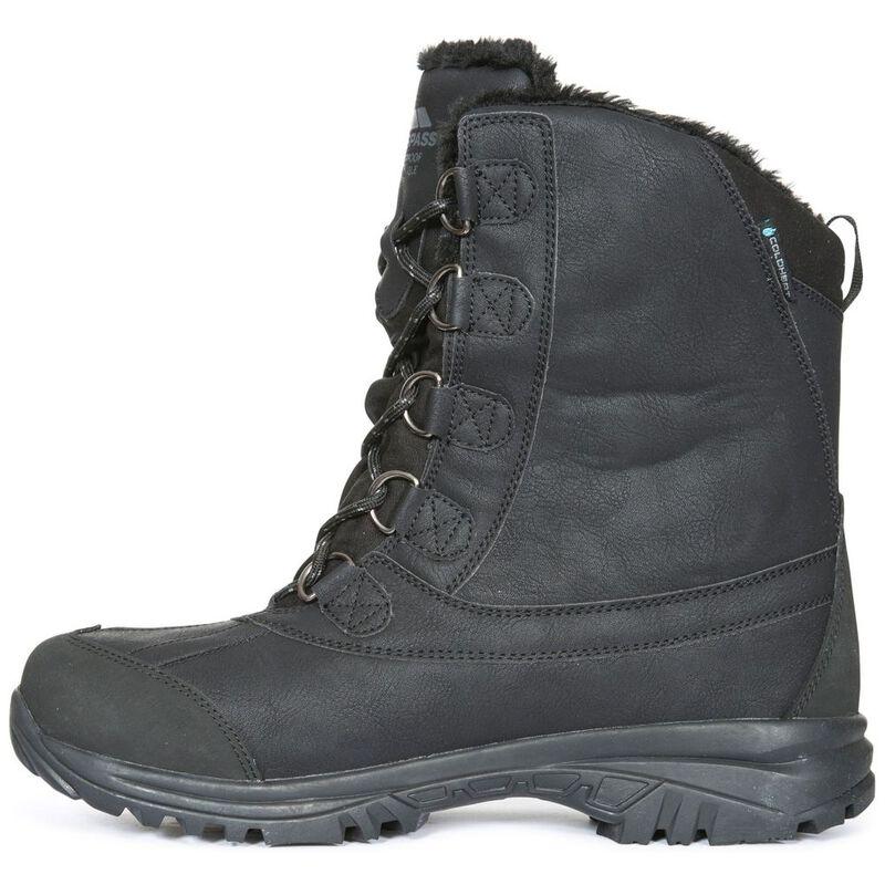 59cf5743c91 Trespass Mens Kareem Snow Boots (Black) | Sportpursuit.com