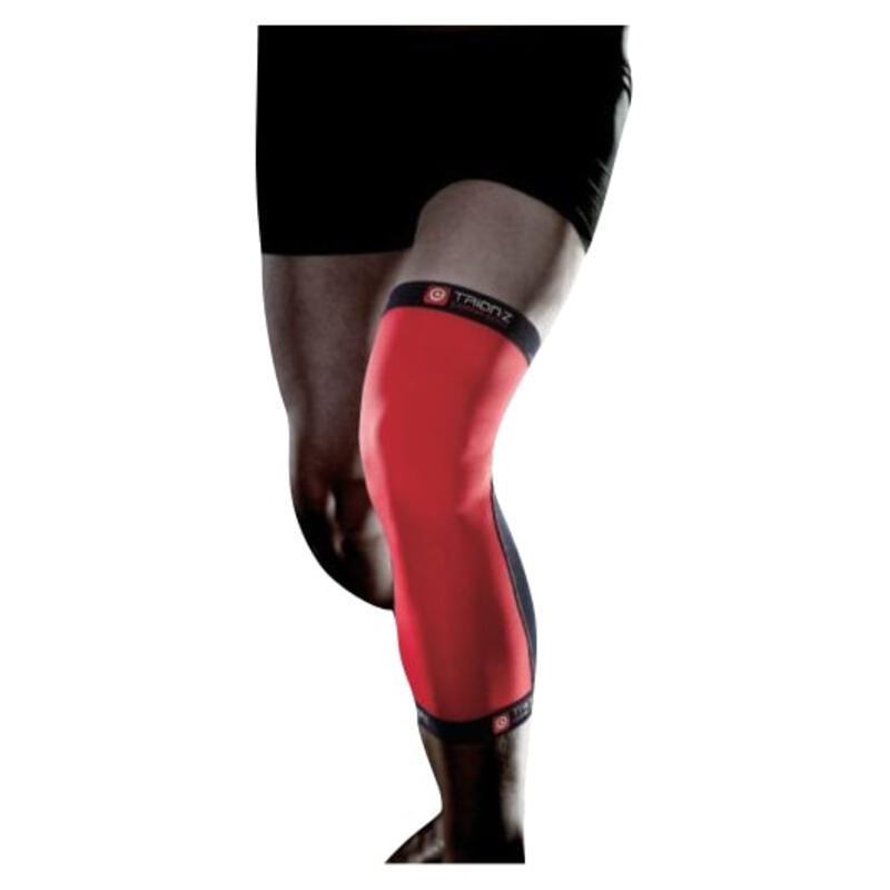 59670b1662 TrionZ Body Fit Copper Skin:Z Knee Support (Red)   Sportpursuit.com