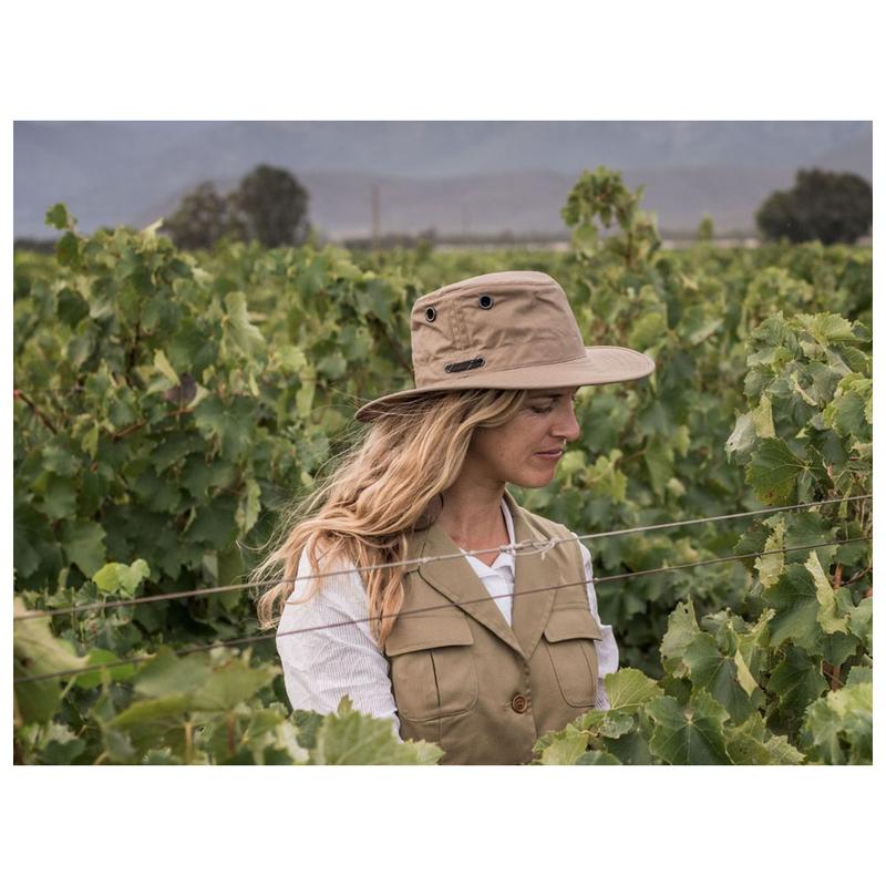 Tilley LWC55 Lightweight Waxed Cotton Hat (Tan)  ba4baeec97c