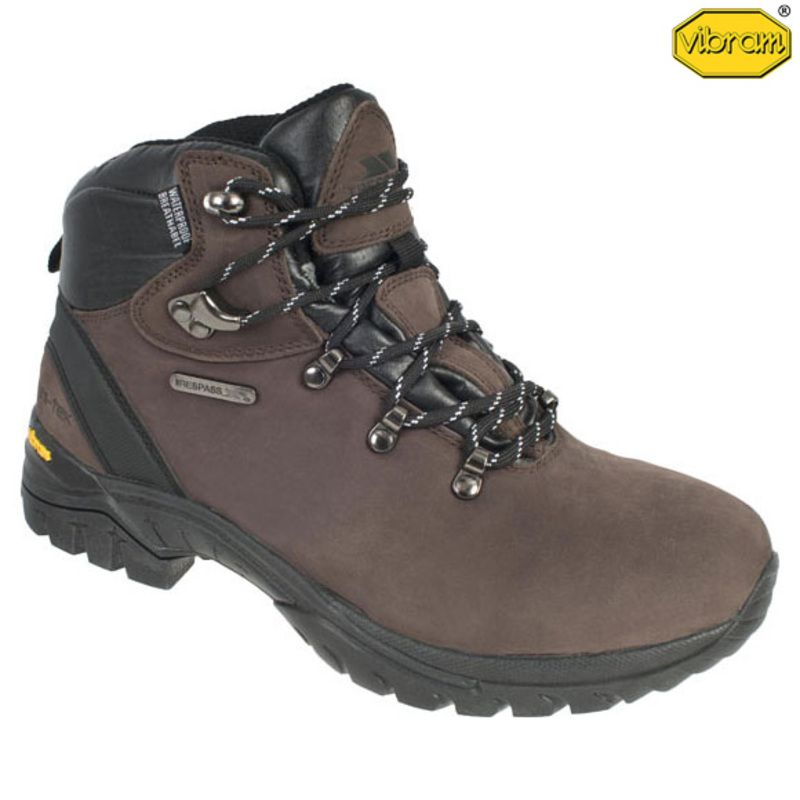 263ebda625514 Trespass Mens Source Boot (Dark Brown) | Sportpursuit.com