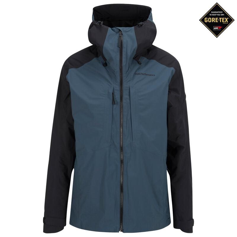 new product 987df 0f8f2 Peak Performance Mens Teton 2-Layer GTX Ski Jacket (Blue ...