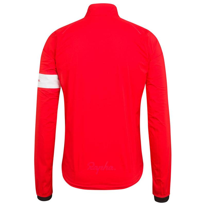 Rapha Mens Classic II Rain Jacket (Red)  0fd0b1d76