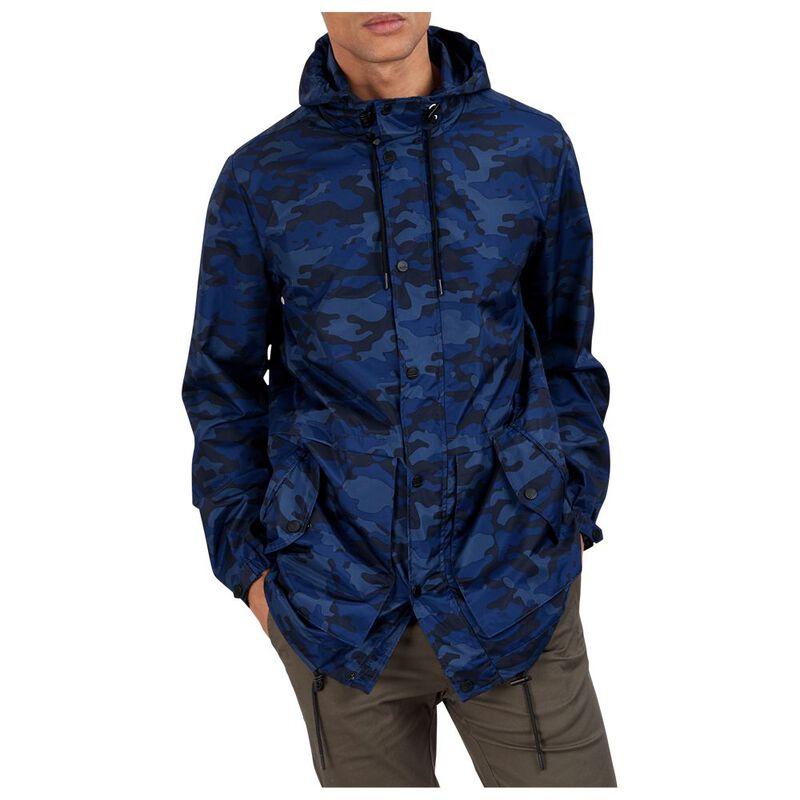 a0667e45ace05 Parka London Mens Soren Lightweight Parka Jacket (Blue Camo)   Sportpu