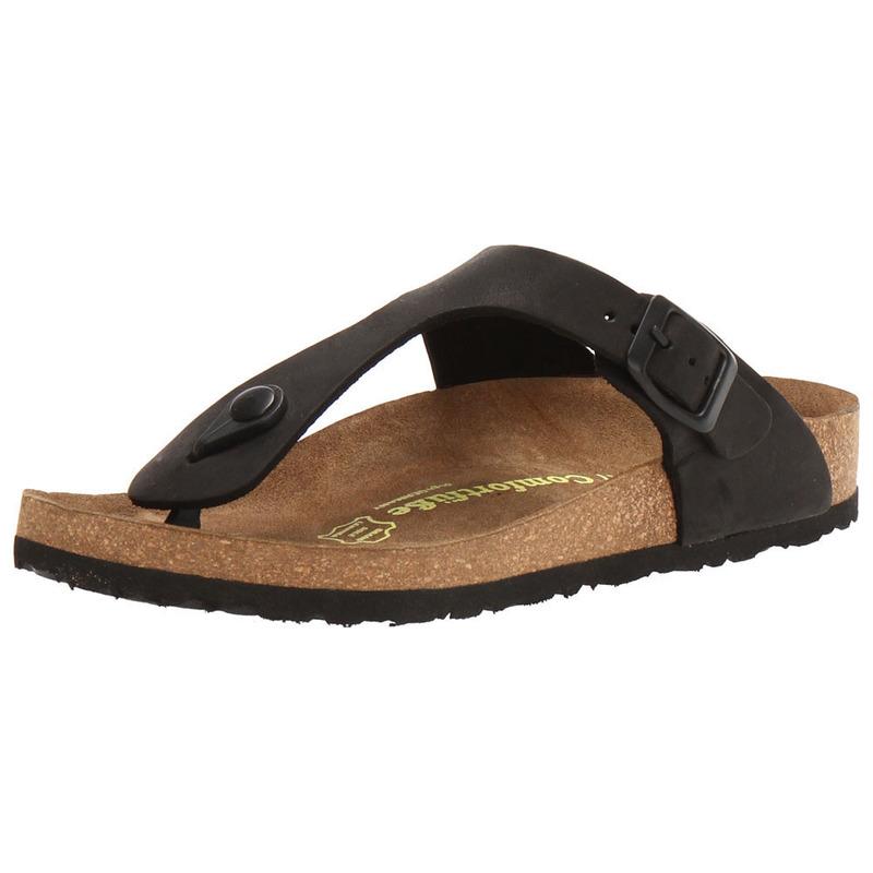 362b24422bbb Comfortfusse Womens Aliz Sandals (Black)