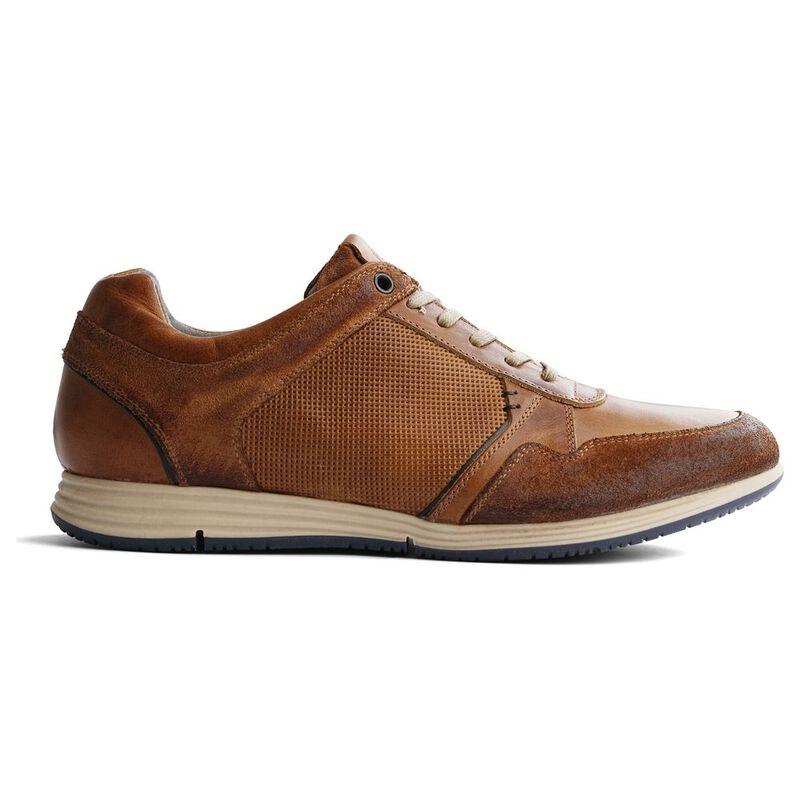 8501a2c306da71 Travelin Mens Corton Leather Shoes (Cognac)