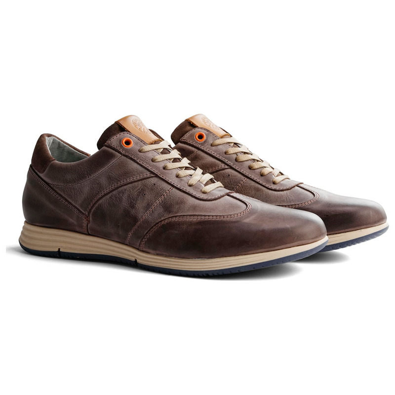 20a44bfc67886a Travelin Mens Harwick Leather Shoes (Brown)