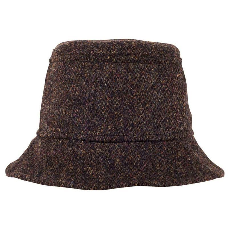 e79461a16a434 Tilley TTH1HT Harris Tweed Tuckaway Hat (Multi)