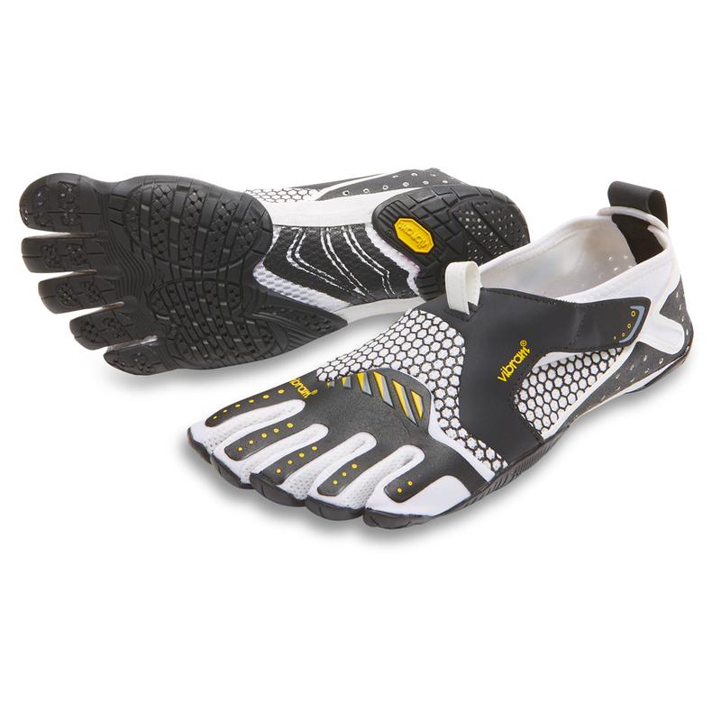 60a104878325 Vibram Mens Signa Water Shoes (White Black)