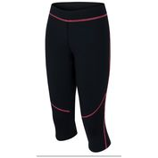 Womens Relay Capris (Anthracite/Rouge)